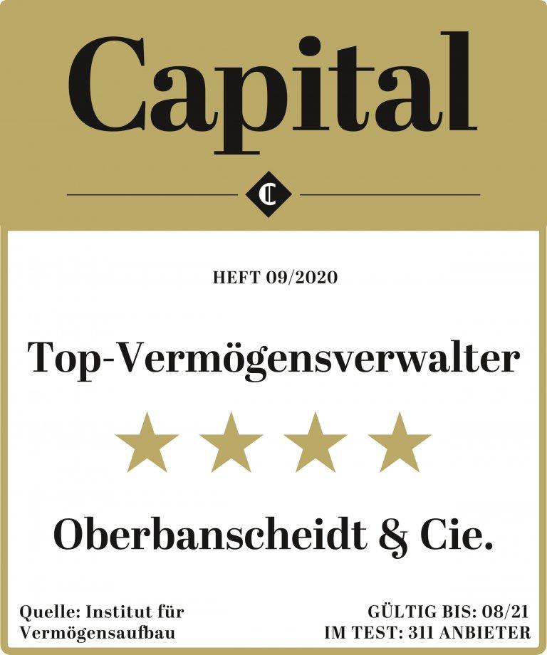 Capital Top Vermögensverwalter konservative Anlagenstrategien Oberbanscheidt und Cie